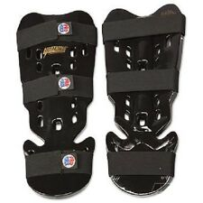 Proforce Martial Arts Shin Guards Karate Sparring Gear Tae Kwon Do - Black