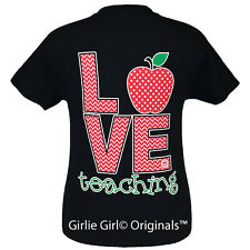 "Girlie Girl Originals ""LOVE Teaching"" Short Sleeve Unisex Fit T-Shirt"