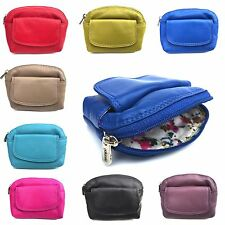 New Golunski Super Soft LEATHER Coin Purse in Stunning Colours Key Ring 333