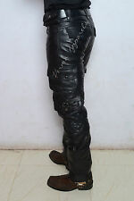 leather jeans pant military army cargo biker Harley Davidson vulcan rune833 1200