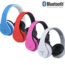 Foldable Bluetooth Wireless Headset Stereo Headphone Earphone Mic for iPhone ETC