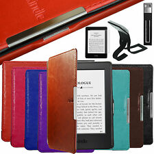 ULTRA THIN PU LEATHER CASE COVER FOR NEW KINDLE WITH TOUCH (7th Generation 2014)