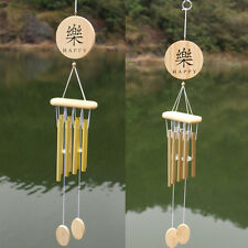 Wooden Windchime 8 Tubes Yard Garden Outdoor Living Creative Home Decor Gift NEW