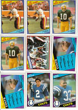 Complete Your 1984 Topps Football Set - Pick 25