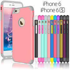 "Hybrid Rubber Shockproof Hard Case Cover Skin for iPhone 6 6S 4.7"" / 5.5"" Plus+"