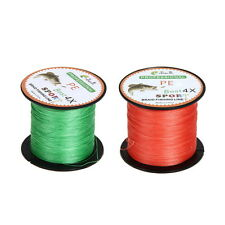Super Power Dyneema Spectra PE Braided Commercial Fishing Line 500m 15Ib~80Ib