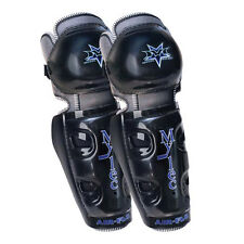 """Mylec Air Flo Pro Roller Hockey Shin Guards Youth 8"""" or 10"""" - New"""