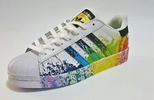 buy popular 4525c 3eae9 adidas superstar pride pack bambino bianche
