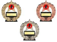 economy Tap Dancing Mega star trophy free engraving gold silver bronze trophies