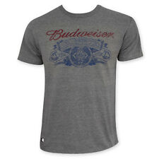 Budweiser Retro Pop Top T-Shirt Gray