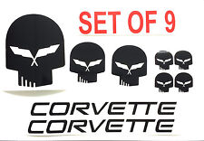 Set of 9 JAKE C5 Corvette Racing VINYL Decals  BUY 2 GET 1 SET FREE