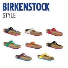 Birkenstock Gizeh Flip - Color Antique Brown - Natural Leather