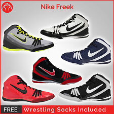 Brand New Nike Freek Wrestling Shoes With Free Wrestling Socks
