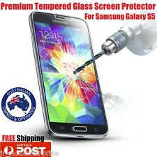 2 PACK x Tempered Glass Film Screen Protector for Samsung Galaxy S5 G900I 4G