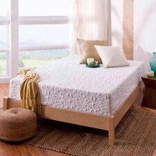 """NEW White Queen Size 12"""" Theratouch Comfy Memory Foam Mattress By Spa Sensations"""