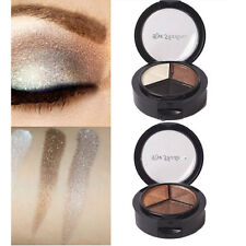 3 Colors Eyeshadow Natural Smoky Cosmetic Eye Shadow Palette Set Make Up qq