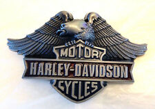 Harley Davidson American Eagle Biker Belt Buckle-Motocycles-Solid Built-Chopper
