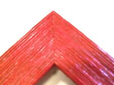 """1.5"""" Wide Rustic Red Barnwood Picture Frame-Square Size"""
