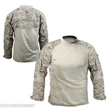 DESERT DIGITAL CAMOUFLAGE MILITARY COMBAT SHIRT
