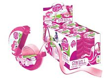 X 24 MY LITTLE PONY GUM ROLL Sweets Party Bag Girl Filler Pinata Candy Bar Horse