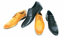 Brand New Lace Up Formal/Casual Work Evening Dress Up Leather Shoes- Size 40-45