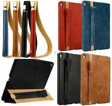 Genuine Leather Case Cover Sleeve Pouch Bag Holder for Apple iPad Pro Pencil #FV