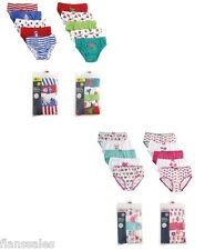 5  PK Of Kids Boys Girls Briefs 100% Cotton Underwear Pants Age 2-8 Years