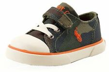 Polo Ralph Lauren Toddler Boy's Carson EZ Army Camo Fashion Sneaker Shoes