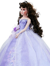 NEW Gorgeous Quinceanera Doll Lavender Color For Girl Birthday Q2028