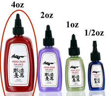 KURO Sumi Colors 4oz Bottle - Pick from 59 Tattoo Ink Colors - Price Per 1