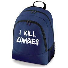 I Kill Zombies Rucksack Backpack Bag laptop controller 360 xbox one ps3 ps4