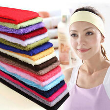 Colourful Sweatband Terry Cloth Cotton Headbands,Yoga/Gym/Workout Sweatbands,NEW