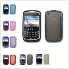 Clear Gummy Hybrid TPU Soft Case Cover For Blackberry Curve 8520 8530 9300 9330