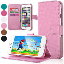 """Flip Wallet Stand PU Leather Case Cover For Apple iPhone 6 4.7"""" / 6S Plus 5.5"""""""