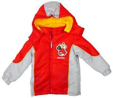 Boys Official Angry Birds Puffa Style Padded Hooded Winter Coat 4 to 10 Years