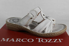 Marco Tozzi Ladies Slippers Sandals Real leather White NEW
