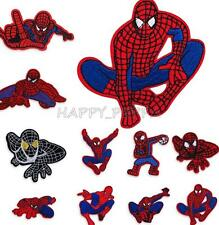 Superhero Spiderman Logo Embroidered Applique Iron ON Patch DIY Sewing Accessory