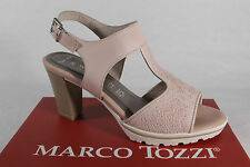 Marco Tozzi Ladies Sandals Sneakers Real leather rose NEW
