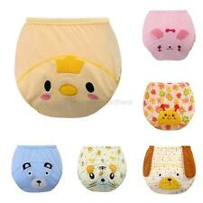 Toddler Baby Kid Cartoon Cotton Cloth Waterproof Pull On Up Potty Training Pants