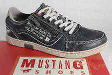 Mustang Men's Lace-up Shoes Sneakers trainers Low shoe blue Rubber sole NEW