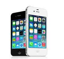 "Original Unlocked Apple iPhone 4S - 3.5"" iOS 8GB Smartphone 3G White/Black WIFI"