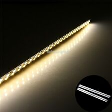 0.5m 2835 SMD 72 LED Rigid Strip bar light cool warm White Al Case Cover end cap