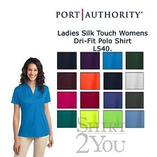 New Port Authority L540 Ladies Silk Touch Womens Dri-Fit Polo Shirt XS-4XL