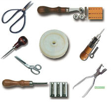 Leathercraft Tools,Scissors,Punch,Awl,Rotary Cutter,Beveler,Stitch Spacer Tool