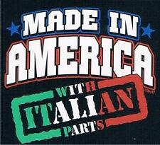 MADE IN AMERICA WITH ITALIAN PARTS So Cute! KidsTee Shirt Sizes 2-4 thru 14-16