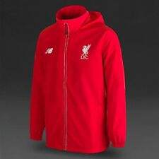 Liverpool F.C Mens Coat New Balance Football Training Winter Hooded Rain Jacket