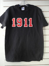 "Kappa Alpha Psi Founding Year ""1911"" Short  or Long Sleeve T Black, Red, White"