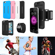 Sports Running Jogging Gym Armband Holder Case Cover For Apple iPhone 6 6S Plus