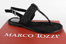 Marco Tozzi Ladies Thong flip-flops Sandals Sneakers black new