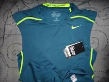 NIKE PRO COMBAT COMPRESSION DRI-FIT SLEEVELESS SHIRT MENS SIZE L NWT $35.00